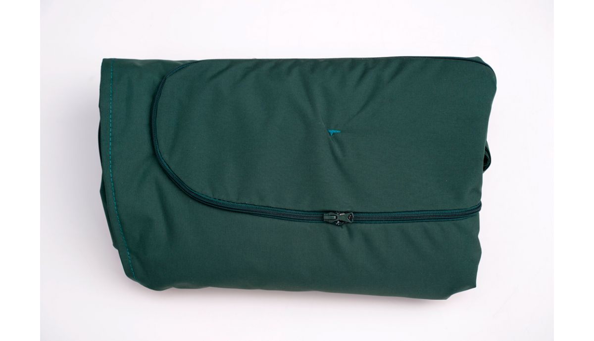 'Globo Royal' Green Weatherproof Kissenbezug