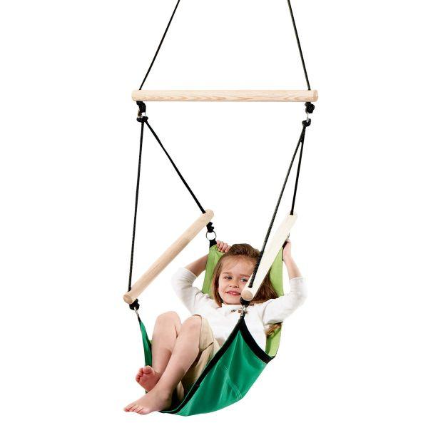 'Swinger' Green Kinderhängesessel
