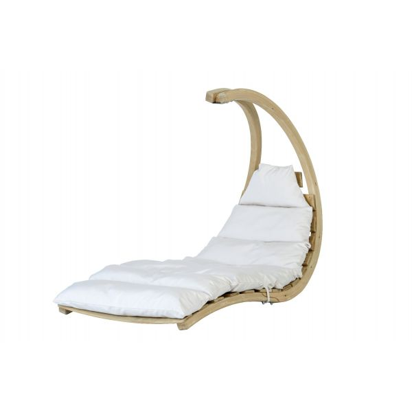 'Swing Lounger' Creme Hängesessel