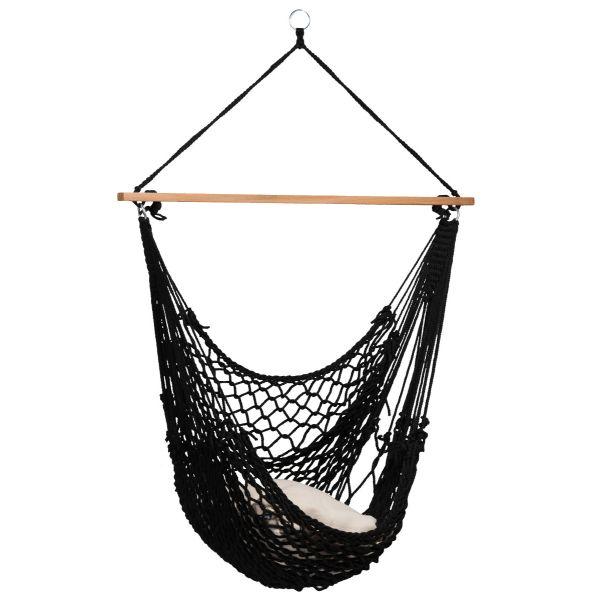 'Rope' Black Hängesessel