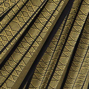 Black Edition Gold Plaid