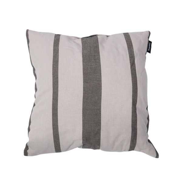 'Stripes' Silver Kissen