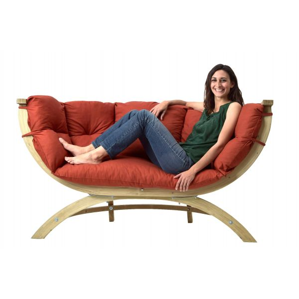 'Siena Royal' Terracotta Loungestuhl